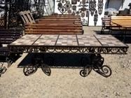 Новый большой красивый и прочный стол для улицы! Цена 19000р.